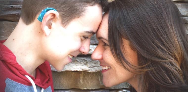 Dr. Dewsnup and her son Brenden