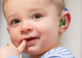 Baby With Hearing Aids