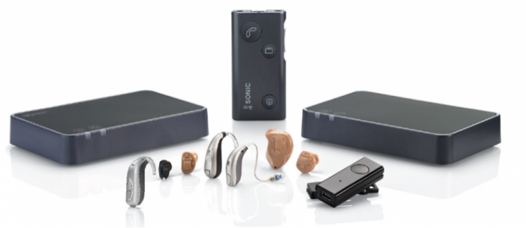 sonic innovations hearing aid accessories