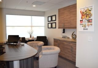 Audiologist Peoria AZ Happy Ears fitting and counseling room in Peoria Arizona