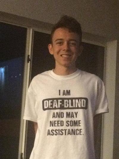 Brenden Usher Syndrome Shirt